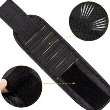 BESSKY 5 Magnetic Wristband Pocket Tool Belt Pouch Bag Screws Holding Working Helper _