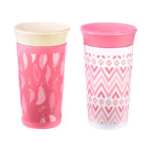 The First Years Simply Spoutless Cup Y6420A2 / 6431PP - Pink [9oz/ 2 Pcs]