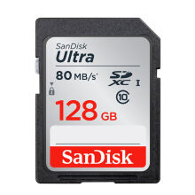 Sandisk Ultra SDHC SD Card For Camera - 128G