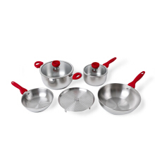 SUPRA Cookware Set Alat Masak 7 pcs Impact (SP-7PC-IM)