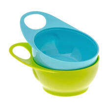 Brother Max 2 Easy Hold Bowls Peralatan Makan - Blue Green