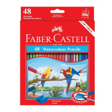FABER-CASTELL Watercolour pencils parrot 48 L 114468