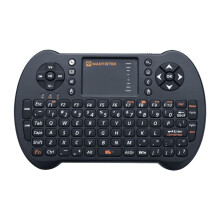 MantisTek®  MK1 2.4GHz Wireless Mini Keyboard with Touchpad Mouse Remote Control for Android Windows Black