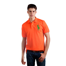 POLO RALPH LAUREN - Lacoste Mesh Polo Shirt Signal Orange Men