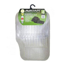 AVATAR 6100 Karpet Mobil - Clear [4Pcs]