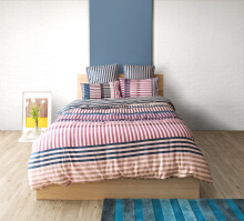 ESPRIT Sprei Set King - Piano Stripe / 180x200x36cm