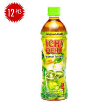 ICHI OCHA Green Tea Carton 500ml x 12pcs