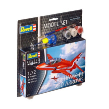 REVELL Model Set Bae Hawk T.1 Red Arrow - Multicolor