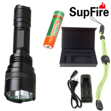 LED Flashlight CREE High Quality Super Bright Waterproof 18650 Rechargeable CREE Torchlight Portable Light Camping Fishing Light