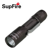 Supfire Black Camping Light LED Flashlight CREE T6 10W 900 Lumens Long Range 18650 Rechargeable Torchlight Super Bright Fishing Cycling Hiking Black