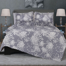 CELINA Sprei Set & Quilt Cover Single - Zura Abu - 120x200x40cm