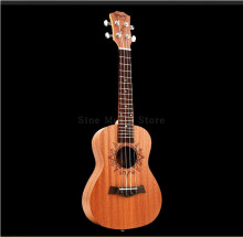 BWS 18 Frets Uke 23inch Ukulele Concert Acoustic 4 strings Mahogany Children Small Guitar Hawaii Musical instrument B-32 Yellow