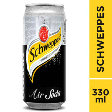 SCHWEPPES Soda Water Can 330ml
