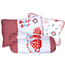 KIDDY Baby Pillow Set 3in1 KD2622 - Merah
