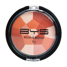 BYS Blush & Bronze Mosaic Compact Light Glow