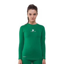 Tiento Baselayer Manset Compression Long Sleeve Green Baju Kaos Ketat Olahraga