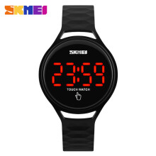SKMEI Jam Tangan LED Touch Wanita Water Resistant 1230A Include BOX SKMEI