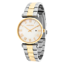 Police Primo Mother of Pearl Dial Stainless Steel Case Dual Tone St. Steel Strap [PL.14921LST/28M] Silver