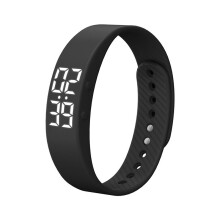 T5S Sports Calories  Pedometer Smart Wristband Wristband Watch Bracelet