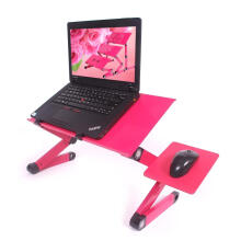[free ongkir]RADYSA Meja Laptop Portable With Cooler - Pink Pink Others