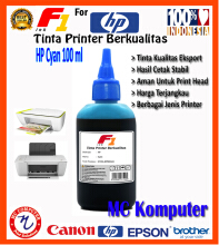 F1 Ink For HP Cyan 100 ml