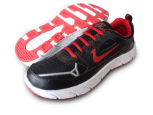 RECORD Aston Men Running Shoes Black Red