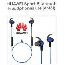 Huawei Sport Bluetooth Headphones Lite AM61 BT Handsfree Samsung Blue