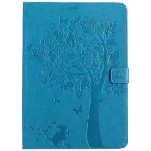 Keymao Apple iPad mini 1 2 3 Luxury Flip Leather case Cat tree embossed Cover