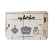 BATHMAT KITCHEN  40X60 CM   KESET KAKI - MULTICOLOR