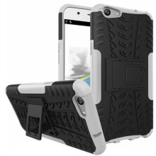 VEN Oppo F3 Plus Shock Proof TPU + Plastic Armor Case