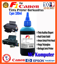 F1 Ink For Canon Cyan 100 ml
