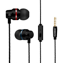 BESSKY Metal Stereo Headphone Bass Earphone Sport Headset Hands Free Earbuds With Mic_