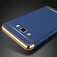 Smatton Case hp Samsung Galaxy J5 2016 J510 3 in 1 Luxury Electroplate Ultra Thin Hybrid Shockproof Case Cover