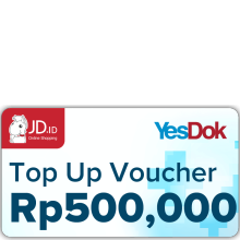YesDok Top Up Voucher Value Rp 500.000