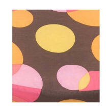 My Breast Friends Pillow Cover Warm Dot Bantal Bayi - Brown