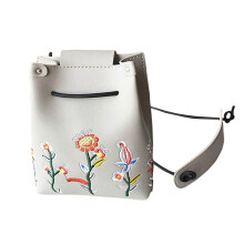 BESSKY Girls Women Retro Female Simple Floral Bag Crossbody Shoulder Bag Handbag_