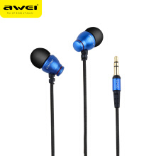 OAC-AWEI ES Q6 Wired Headphone For iPhone Samsung Huawei Stereo Earphone Super Bass Sound Headset For Phone MP3 MP4 Players