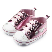 Saneoo Lovely Prewalker Baby Shoes Pink 3-6 bulan
