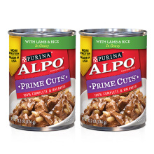 ALPO PRIME CUTS Lamb Rice 13.2oz [2 Pcs]