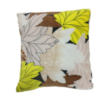 JYSK Cushion Cover Flannel Fall Leaves - Muilticolor