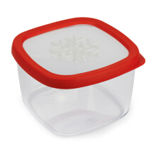 SNIPS Aroma Food Container snow 1,5LT - Red