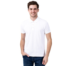 BESUTO Men Premium Polo - White