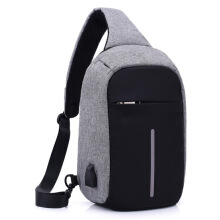 Vfocs Men Crossbody Bag Anti Theft Sling Bag Shoulder Chest Cross Body Backpack Lightweight Casual Daypack