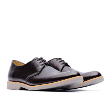 LIFE 8 MIT Lightweight Cow Leather Casual Derby Shoes - Red Wine