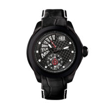 Moment Watch Guy Laroche GL6282LD-01 Jam Tangan Pria - Leather Strap - Black Black