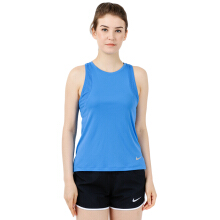 NIKE As W Nk Dry Miler Tank Cl - Lt Photo Blue/Lt Photo Blue