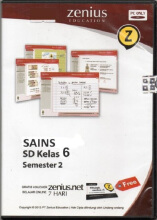 Zenius Set CD SD Sains Kelas 6 Semester 2