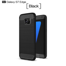 Keymao Samsung Galaxy S7 edge Case Soft TPU Silicon Full Protect Cover