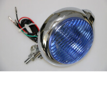 SCARLET RACING -lampu tembak -189 blue glass ons Silver