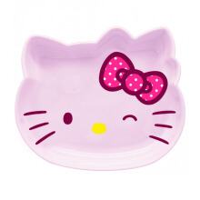 TECHNOPLAST Hello Kitty Fancy Revolution Soup Plate 9'' - Pink